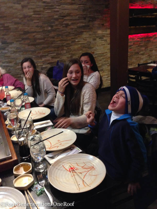 103 inches of snow + february school vacation + hibachi-4