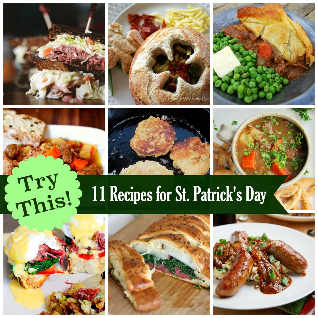 St Patrick S Day Breakfast She Brooke: TRY THIS! 11 Recipes For A St. Patrick's Day Feast