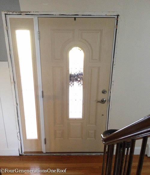 How to add new door molding our front door four generations how to front door interior trim 3 planetlyrics Images
