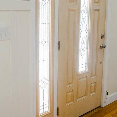 How to add new door molding {our front door}