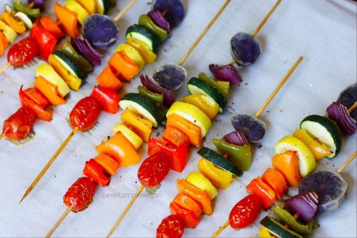 Rainbow-Veggie-Skewers