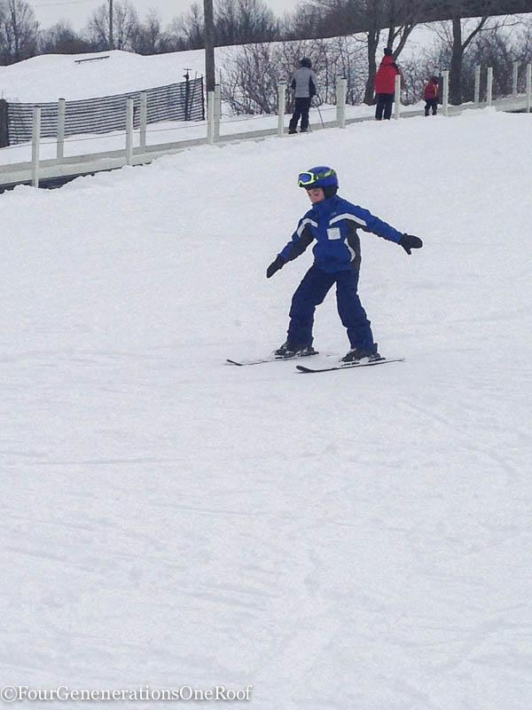 blizzard 2015 + skiing