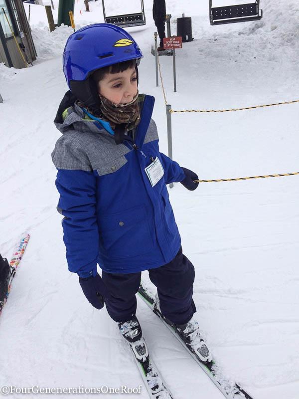blizzard 2015 + skiing + tubing