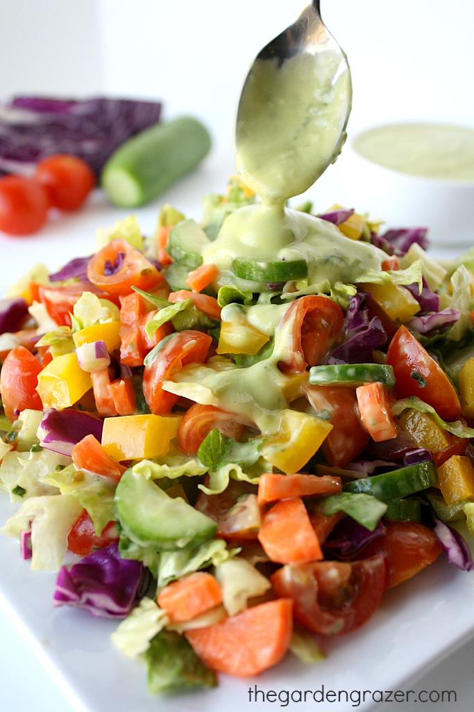 Rainbow Kale Salad Whole Foods