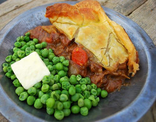 Steak & Guinness Pie from The Cutting Edge of Ordinary