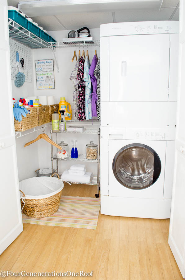 DIY Basement Laundry Room Makeover Save Before