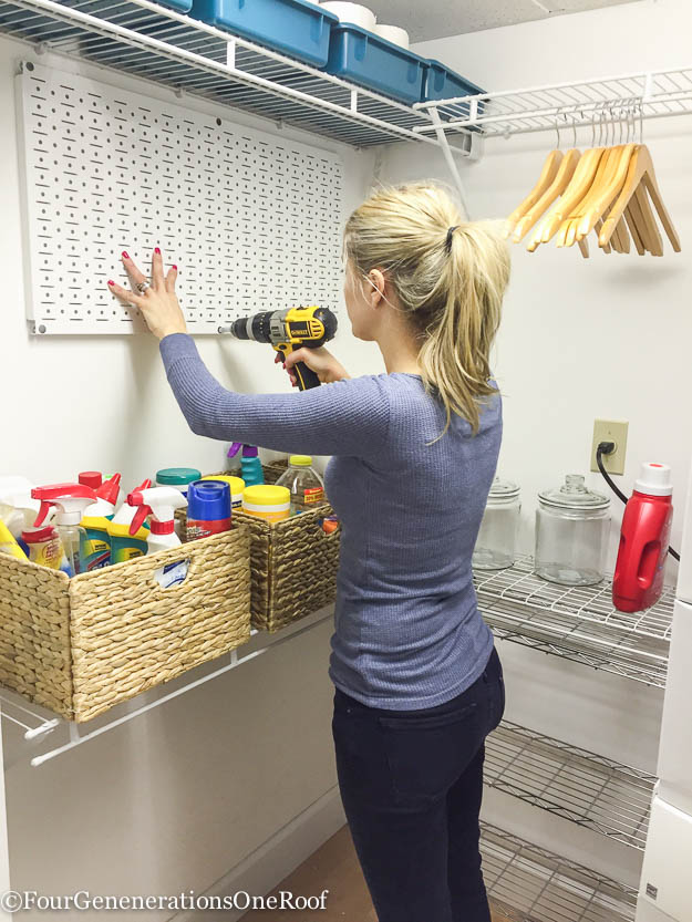 Diy Basement Laundry Room Makeover Before Amp After Four