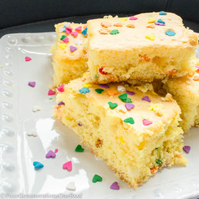 Quick & Easy Cake Batter Treats