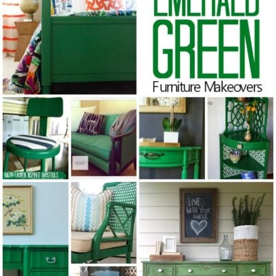 TRY THIS: Emerald Green Furniture Makeovers