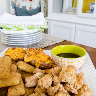 Chicken Bites and Mozzarella OH MY!