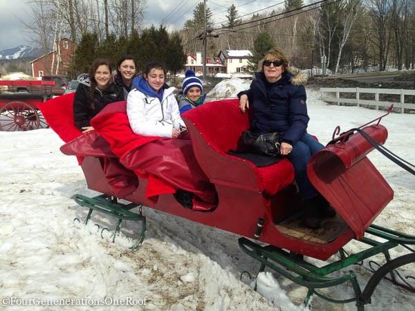 Stowe Vermont Ski Trip 2015