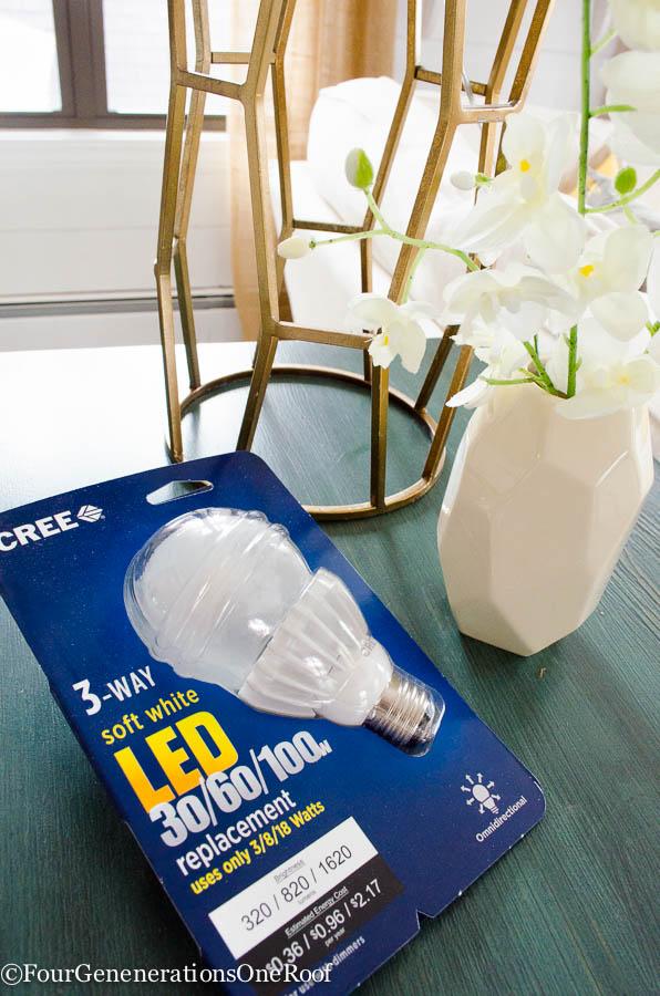 Why I love 3 way lighting Cree LED 3-way