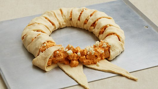 Buffalo Chicken Stuffed Crescent Roll Four Generations One Roof