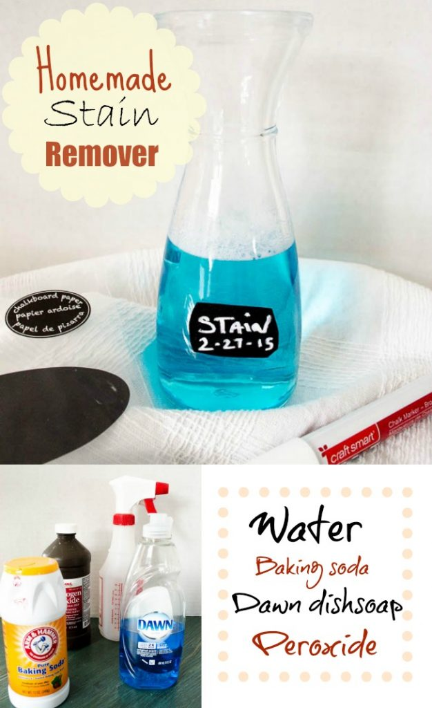 homemade stain remover / Laundry stain remover