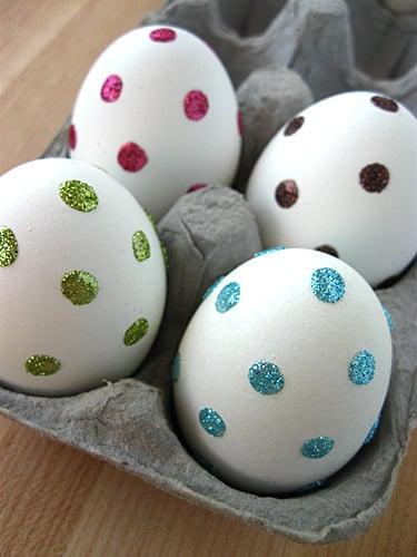 polka-dot-glitter-eggs