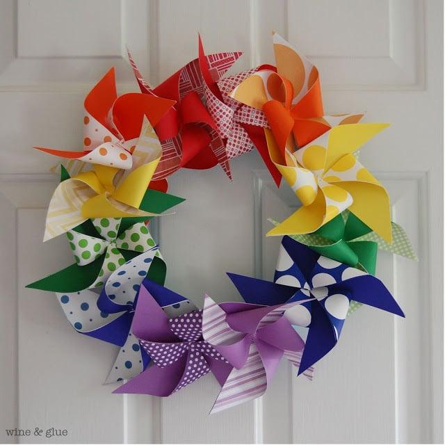 rainbow-pinwheel