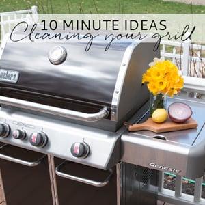 clean grill ideas