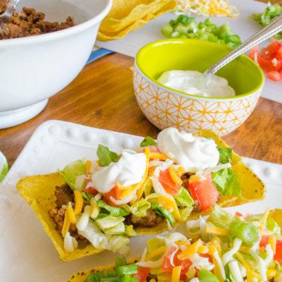 How to make Tacos {flat bottom shells}