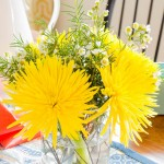 decorating with fresh flowers in 10 minutes or less