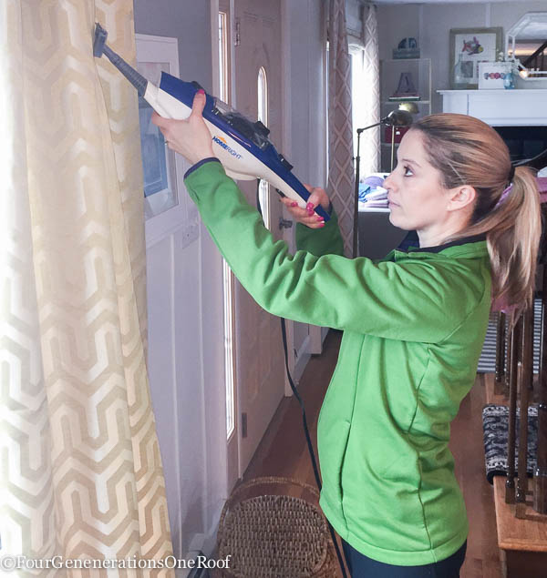 Spring Cleaning tips + SteamMachine Plus Giveaway / kills 99% of germs/ Chemical Free Cleaning + incredible steam heat