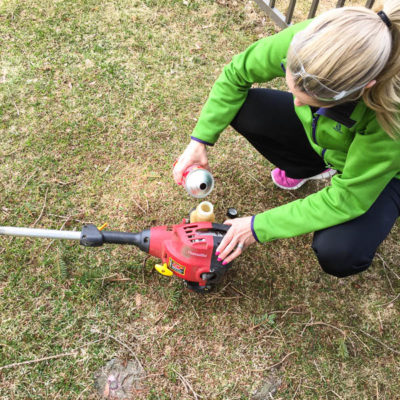 Yard Work Made Easy! Get the weed wacker out!