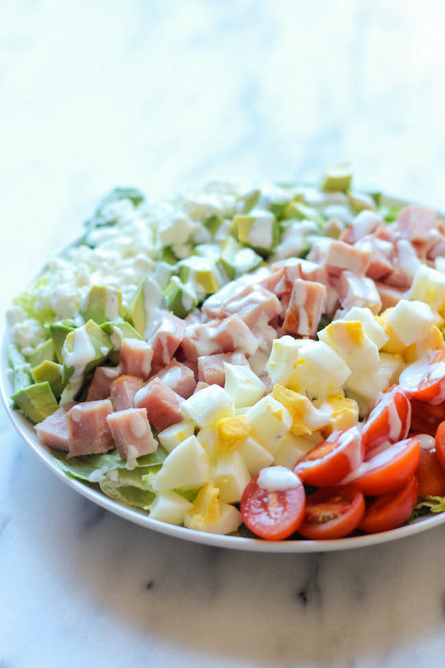 leftover-ham-cobb-salad