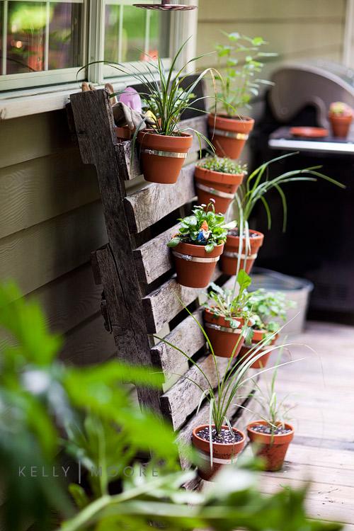pallet-herb-garden