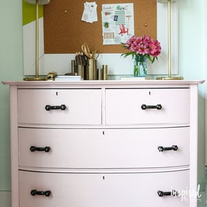touching up painted furniture