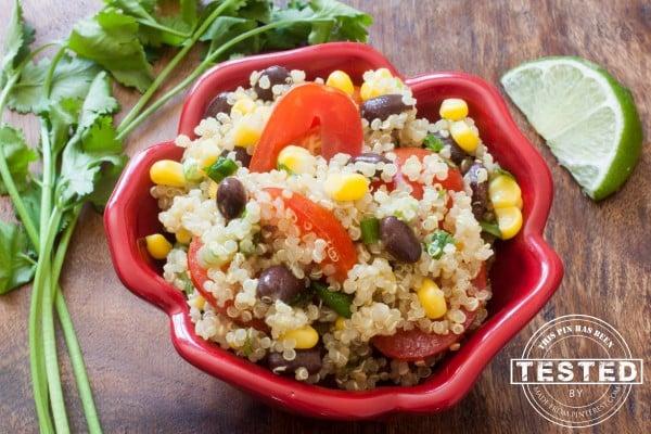 Cilantro-lime-quinoa-salad
