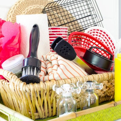 Fun Father's Day Grill Gift Basket