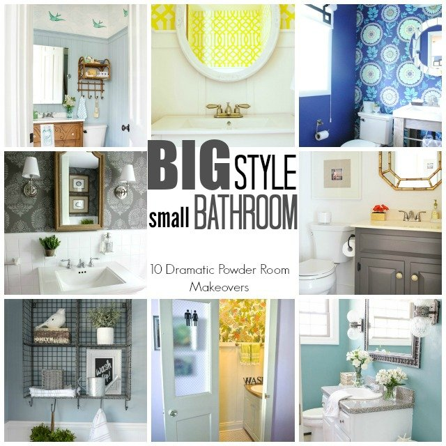Completely new TRY THIS: a High Style Half Bath Makeover - Four Generations One Roof SY31