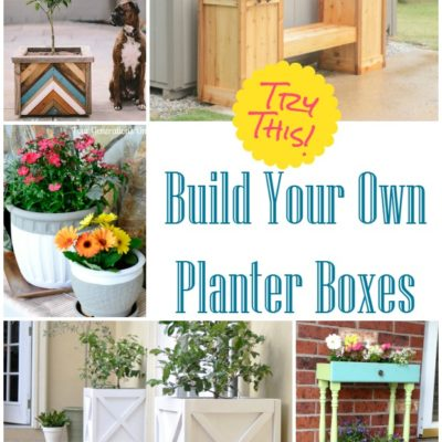 TRY THIS: Make Your Own Planter Boxes