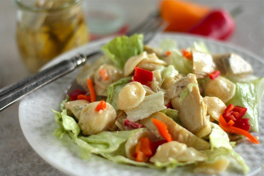 artichoke-pasta-salad