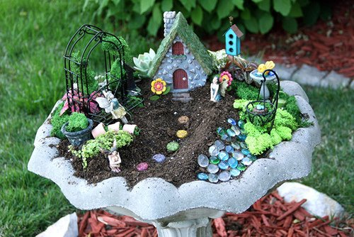 TRY THIS Make a Fairy Garden Four Generations One Roof