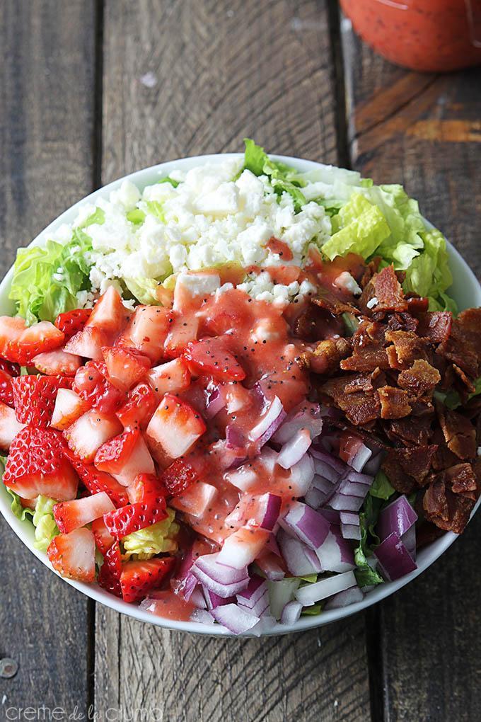 strawberry-poppyseed-bacon-salad