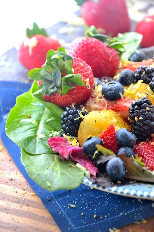 yellow-watermelon-berry-salad