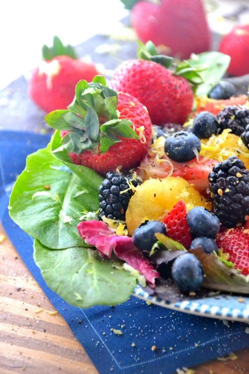 yellow-watermelon-berry-salad
