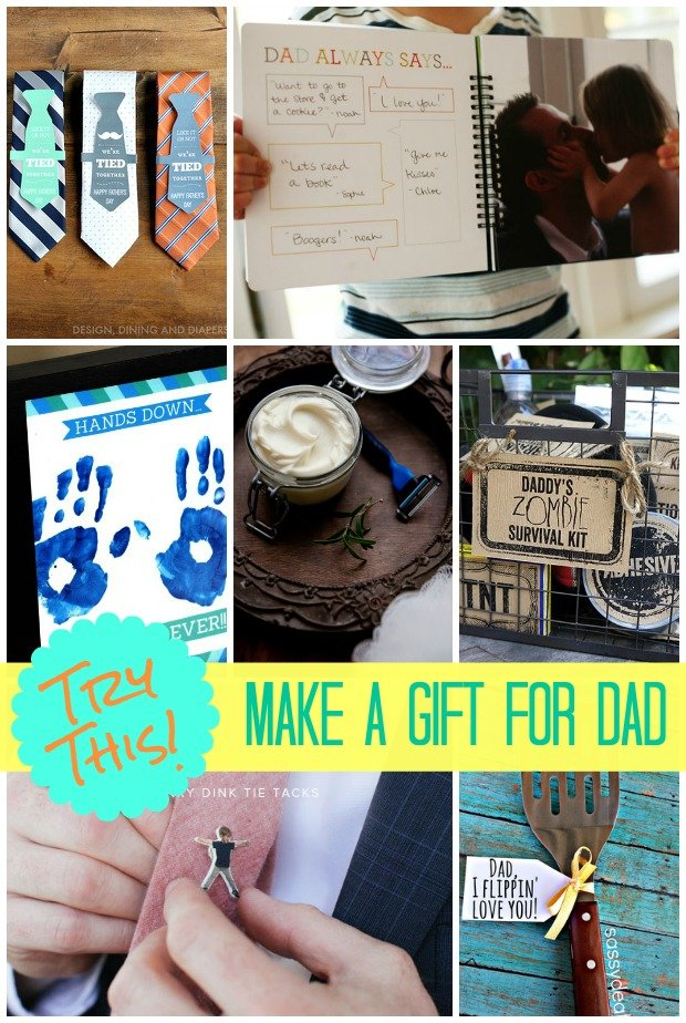 TRY THIS: Homemade Father's Day Gifts - Four Generations One Roof