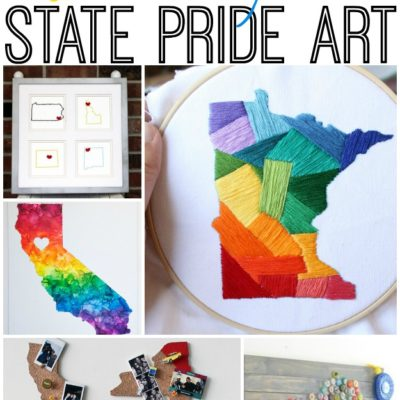 TRY THIS!  8 Ways to Show State Pride