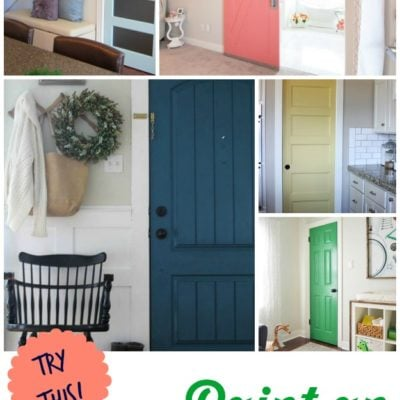 TRY THIS:  8 Colors You Can Paint an Interior Door