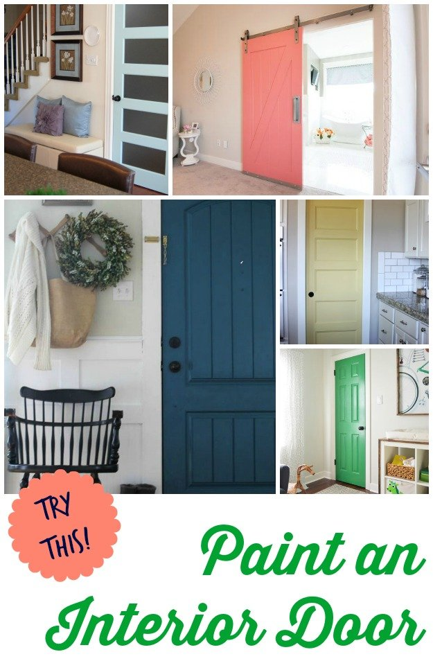 Try this 8 colors you can paint an interior door four for Paint for doors interior