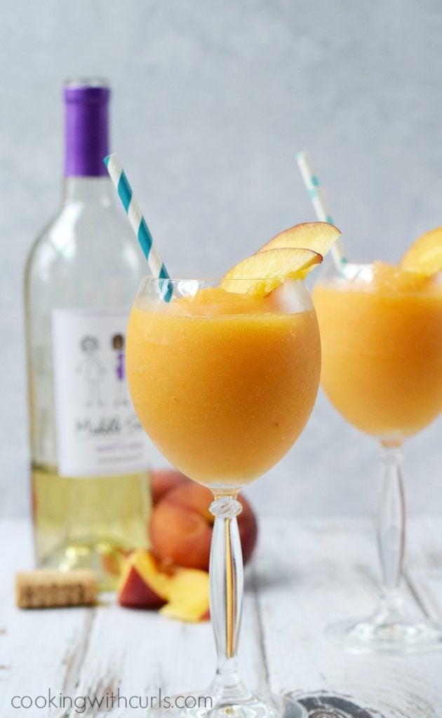 Peach-Moscato-Smoothies
