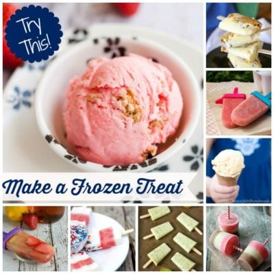 TRY THIS:  Make a Frozen Treat