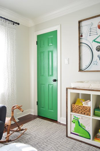 TRY THIS: 8 Colors You Can Paint an Interior Door - Four Generations ...