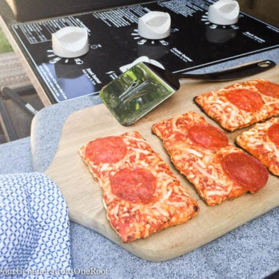 Grilled Pizza oh my!