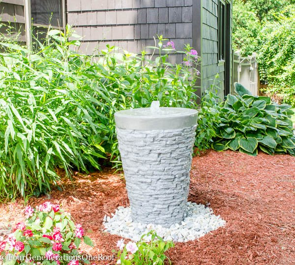 How To Install A Garden Water Feature {water Fountain}   This Is Such An