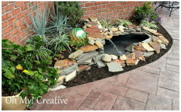 Try This Install A Water Feature Four Generations One Roof