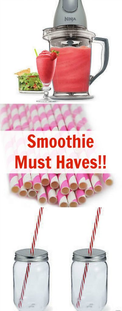 smoothie must haves