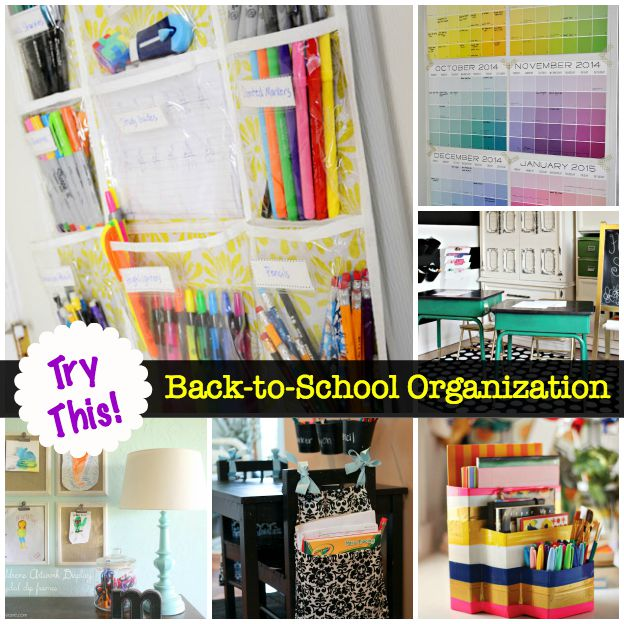 Try this back to school organization four generations one roof - Back to school organization ...