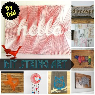 TRY THIS: DIY String Art